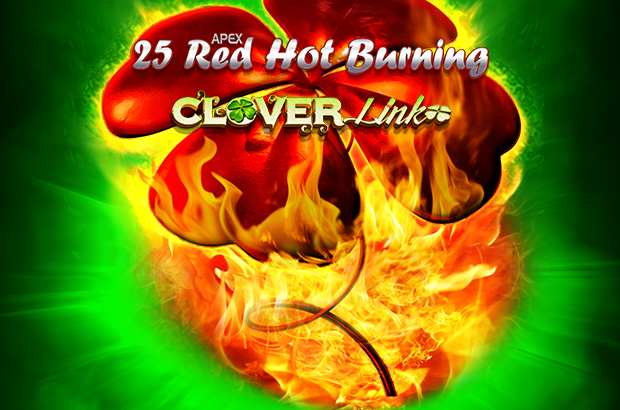 25 Red Hot Burning Clover Link™