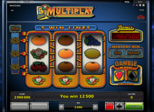 5 Line Multiplay™ Paytable