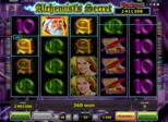 Alchemist's Secret Paytable