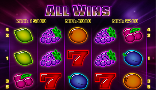 All Wins Screenshot