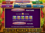 ALMIGHTY JACKPOTS – Garden of Persephone™ Paytable