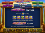 ALMIGHTY JACKPOTS - Realm of Poseidon™ Paytable