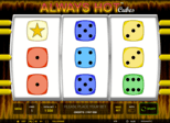 Always Hot Cubes™ Paytable