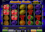 Amazing Fruits Paytable