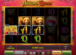 Autumn Queen™: Paytable