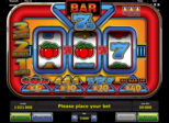 Bar 7´s Paytable