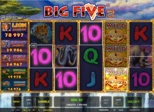 Big Five™ Paytable