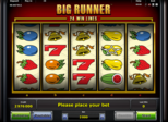 Big Runner™ Paytable