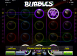 Bubbles Paytable