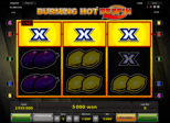 Burning Hot™ Respin Paytable