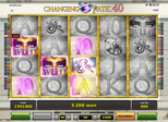 Changing Fate 40™ Paytable