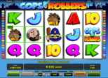 Cops 'n' Robbers Paytable