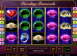 Dazzling Diamonds Paytable
