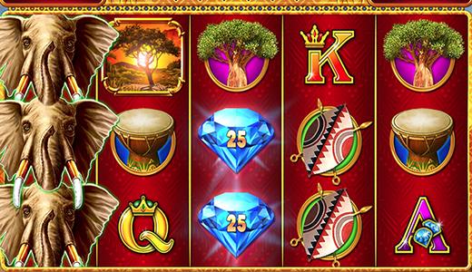 Diamond Cash™: Mighty Elephant Screenshot