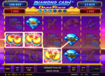 Diamond Cash™: Oasis Riches Paytable