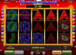Diamonds of Fortune Paytable