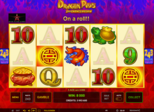 Dragon Pays - 2nd Chance Respin Paytable