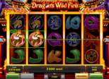 Dragon's Wild Fire Paytable
