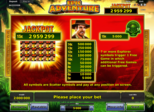 Epic Adventure Paytable
