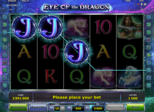 Eye of the Dragon Paytable