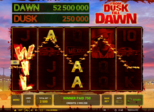From Dusk Till Dawn™ Paytable