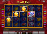 Fruit Fall Paytable