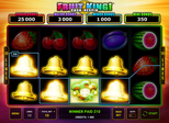 Fruit King!™ Cash Respin Lines