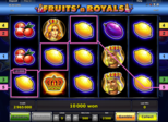 Fruits'n Royals™ Paytable