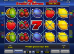 Fruits'n Sevens Paytable