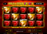 Gold Star Fruits™ Paytable