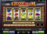 Grand Slam™ Casino Paytable