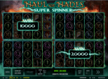 Haul of Hades – Super Spinner™ Paytable