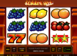 Highroller Always Hot™ deluxe Paytable