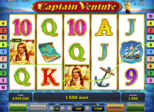 Highroller Captain Venture Paytable