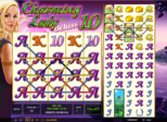 Highroller Charming Lady deluxe 10™ Paytable