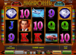 Highroller™ Jackpot Paytable