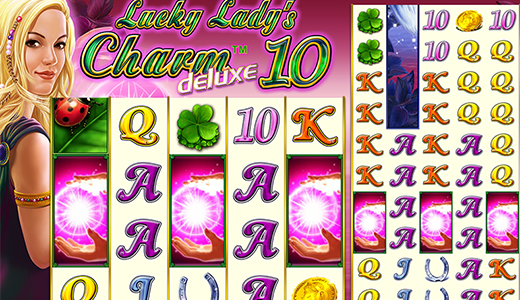Highroller Lucky Lady's Charm™ deluxe 10 Screenshot