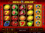 Highroller Mega Joker™ Paytable