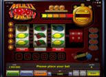 Highroller Multi Dice™  Paytable