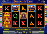 Highroller Pharaoh's Tomb™ Paytable