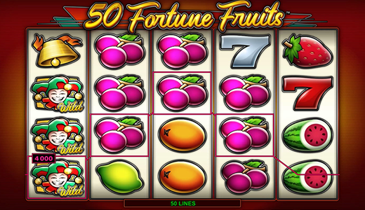 Highroller 50 Fortune Fruits Screenshot
