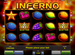 Inferno™ Paytable