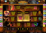 Jackpot of Legends - Book of Ra™ deluxe Paytable