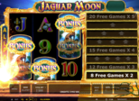 Jaguar Moon™ Paytable