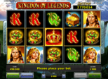 Kingdom of Legends: Paytable