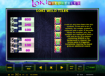 Loki Wild-Tiles Paytable