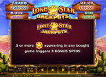 Lone Star Jackpots™ Paytable
