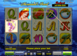 Mermaid's Pearl deluxe Paytable