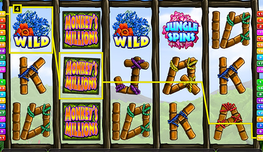 Monkey's Millions Screenshot
