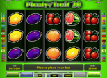 Plenty of Fruit™ 20 Paytable